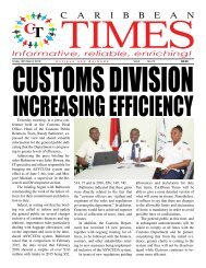 Caribbean Times 72nd issue - Friday 18th March 2016