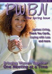 PWBN Spring Issue 2016