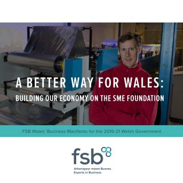 A BETTER WAY FOR WALES