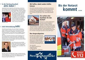 kommt ... - Freiwillige Feuerwehr Jaderberg