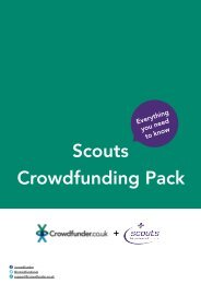 Scouts Crowdfunding Pack