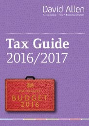 Tax Guide 2016/2017