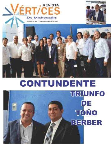 CONTUNDENTE TRIUNFO DE TOÑO BERBER