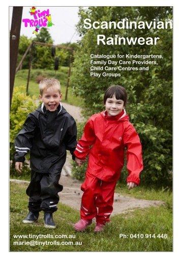 Scandinavian Rainwear