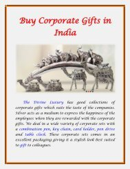 Buy Corporate Gifts in India