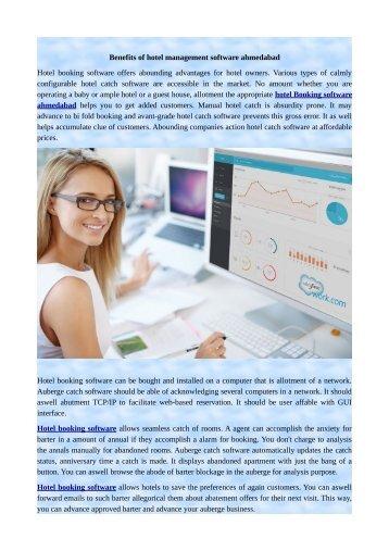 Benefits of hotel management software ahmedabad