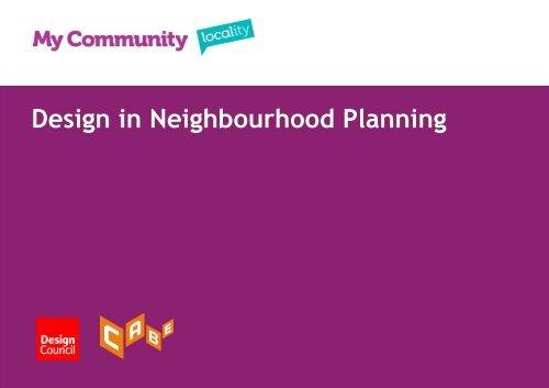 Design in Neighbourhood Planning