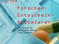Entwicklung neuer Antibiotika (MurA-Inhibitoren) - Deutsche ...