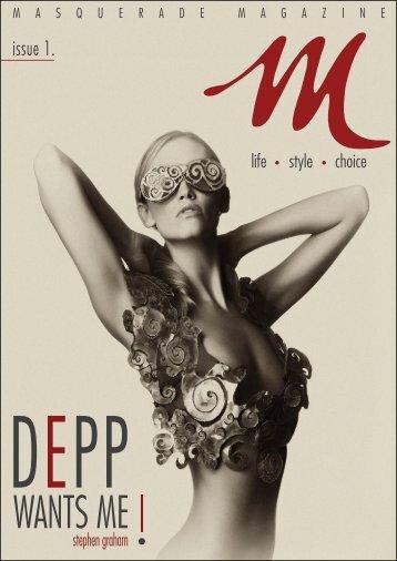 Masquerade Magazine Issue1