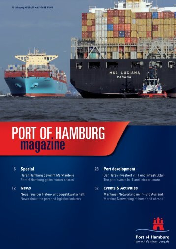 PORT OF HAMBURG magazine