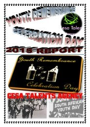 Youth Remembrance Celebration Day 2015 Report