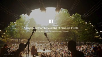A Guide to Getting the Most Out of Facebook Events