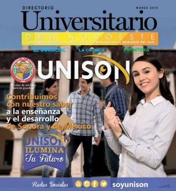 OFERTA EDUCATIVA DE UNIVERSIDADES EN EL NOROESTE DEL PAÍS