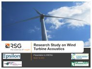 Research Study on Wind Turbine Acoustics