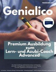 Premium-Ausbildung zum Lerncoach und Azubi-Coach Advanced