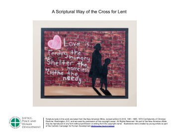 A Scriptural Way of the Cross for Lent