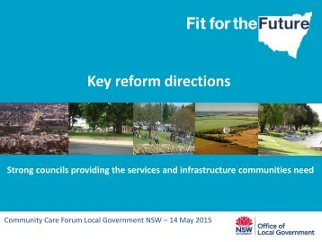 Key reform directions