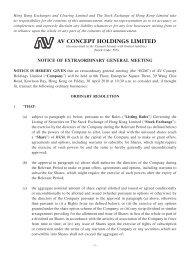 Detail - AV Concept Holdings Limited