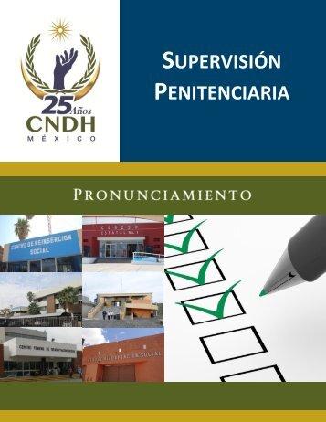 SUPERVISIÓN PENITENCIARIA