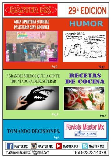 MASTER MX 29ª EDICION