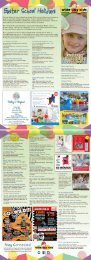 Bundaberg Easter School Holiday Pocket Guide