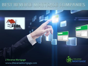 Best Reverse Mortgage Companies - Z Reverse Mortgage