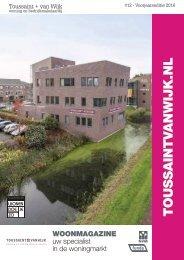 Toussaint + Van Wijk Woonmagazine #11, Voorjaarseditie