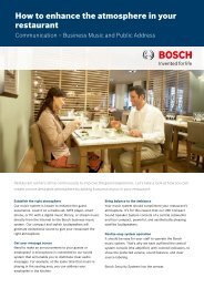 How to enhance the atmosphere in your restaurant