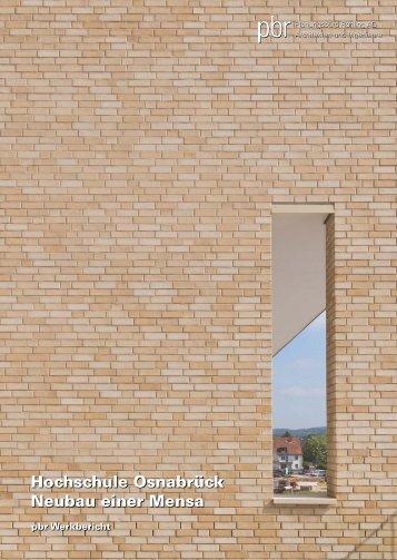 Hochschule Osnabrück - Neubau einer Mensa