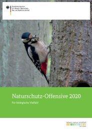 Naturschutz-Offensive 2020