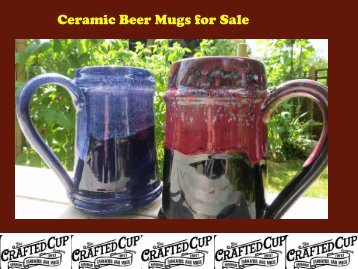 Ceramic Beer Mugs for Sale