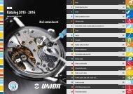 Unior katalog 2016
