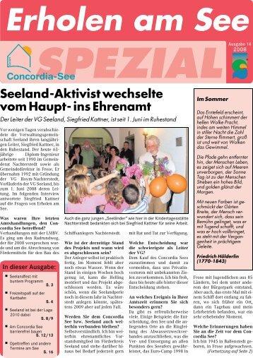 Seeland-Aktivist wechselte vom Haupt- ins Ehrenamt