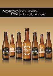 Nordic Pack - Flaskor för bryggerier och musterier