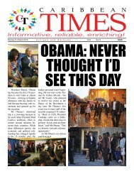 Caribbean Times 73rd issue - Monday 21st March 2016