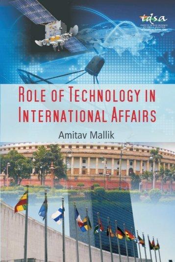 ROLE OF TECHNOLOGY INTERNATIONAL AFFAIRS
