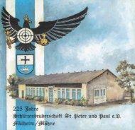 225. Jahre Schützenbruderschaft St. Peter u. Paul e.V