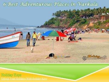 6 Best Adventurous Places in Varkala - HolidayKeys.co.uk