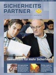 sicherheits partner sicherheits partner - Berufsgenossenschaft für ...