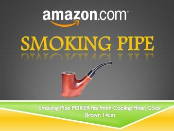 Smoking Pipe POKER - Amazon