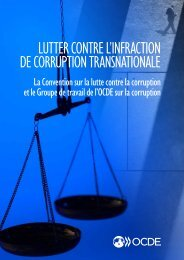 LUTTER CONTRE L'INFRACTION DE CORRUPTION TRANSNATIONALE