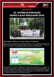 23. Int. Budo-Camp Holland 2015