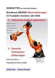 Newsletter: Technisches Englisch uebersetzen (Ausbildung Weiterbildung Qualifizierung Automatiker)