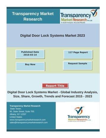 Digital Door Lock Systems Market