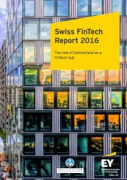 Swiss FinTech Report 2016