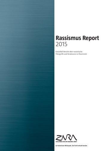 Rassismus Report 2015