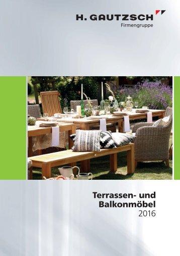 Terrassen-und Balkonmöbel 2016