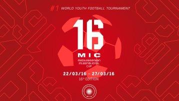 MICFootball | www.micfootball.com MEDITERRANEAN INTERNATIONAL CUP 2016