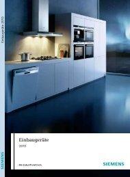 Einbaugeräte - Haushaltgeräte Max Wagner + Co AG