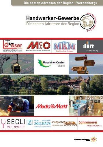 Handwerker- und Gewerbeinfo Werdenberg